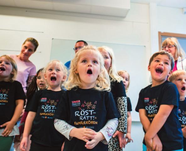 Barn som sjunger